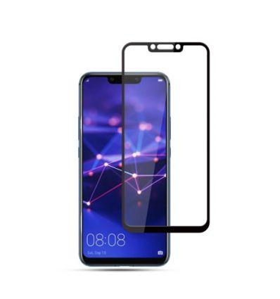 Huawei Mate 20 Lite - Protection d'écran Verre Trempé Full Size - Noir