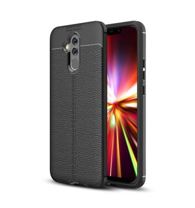 Huawei Mate 20 Lite - Coque Style cuir texture litchi