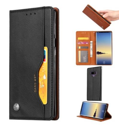 Samsung Galaxy Note 9 - Housse en simili cuir stand case