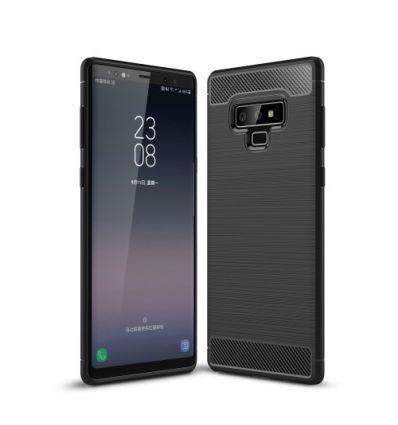 Samsung Galaxy Note 9 - Coque Carbone Brossée