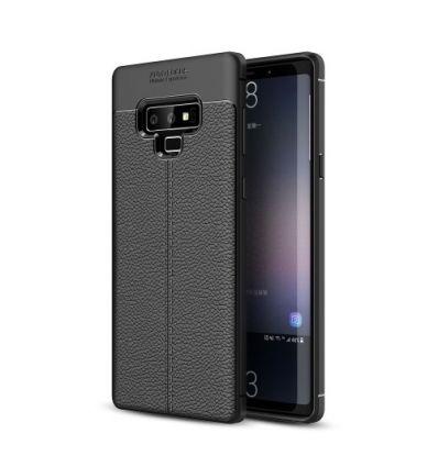 Samsung Galaxy Note 9 - Coque style cuir texture litchi