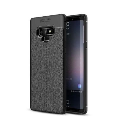Samsung Galaxy Note 9 - Coque style cuir texture litchi