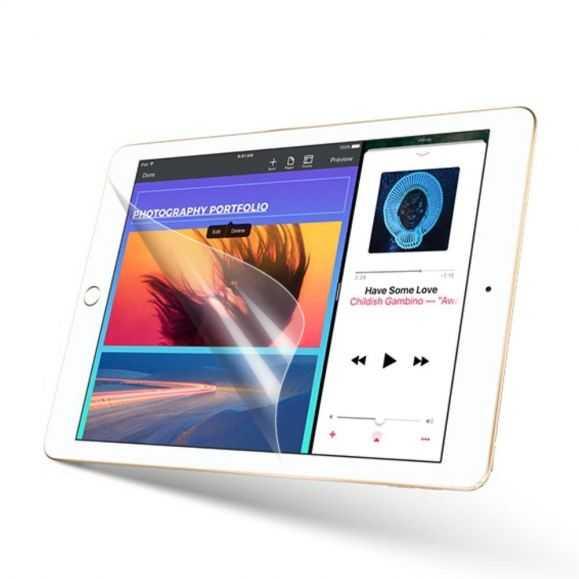 3 films de protections d'écran pour iPad 9.7 2017 / 2018