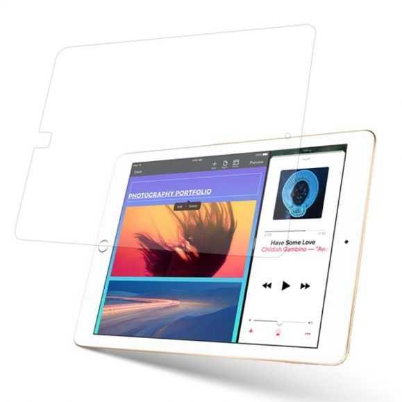 Protection en verre trempé pour iPad 9.7 2017 / 2018