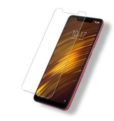 Xiaomi Pocophone F1 - 2 protections d'écran en verre trempé