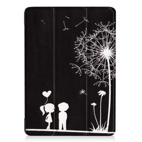Housse iPad 9.7 2017 / 2018 Smart Cover - Couple Pissenlits