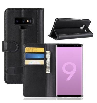 Housse Samsung Galaxy Note 9 Porte-Cartes en Cuir Premium