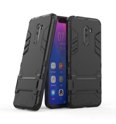 Coque Xiaomi Pocophone F1 Cool guard antichoc avec support intégré