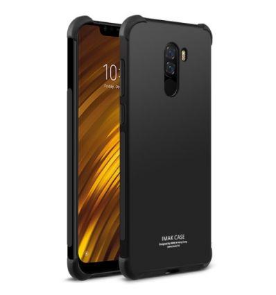 Coque Xiaomi Pocophone F1 Class Protect - Noir métal