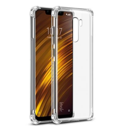 Coque Xiaomi Pocophone F1 Class Protect - Transparent