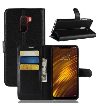 Housse Xiaomi Pocophone F1 Style cuir porte-cartes