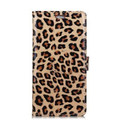 Housse iPhone XR imprimé léopard