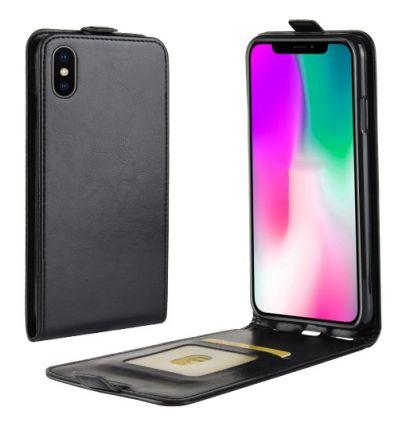 Housse iPhone XR Simili Cuir avec Rabat Verticale