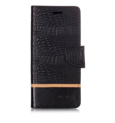 Housse Samsung Galaxy Note 9 bicolore effet croco