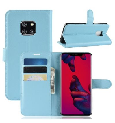 Housse Huawei Mate 20 Pro Style cuir porte-cartes
