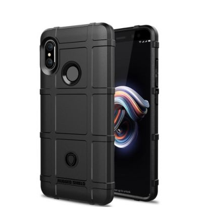Coque Xiaomi Redmi Note 5 protectrice square grid