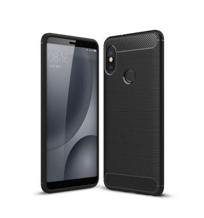 Coque Xiaomi Redmi Note 5 carbone brossée