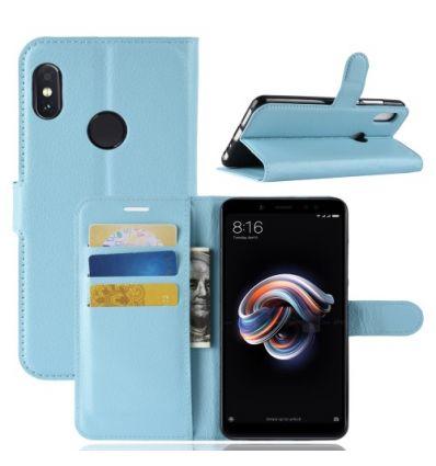 Housse Xiaomi Redmi Note 5 Style cuir porte-cartes
