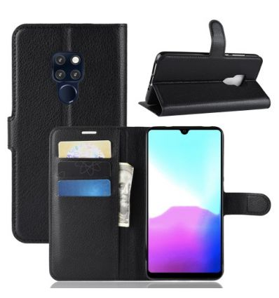 Housse Huawei Mate 20 Style cuir porte-cartes