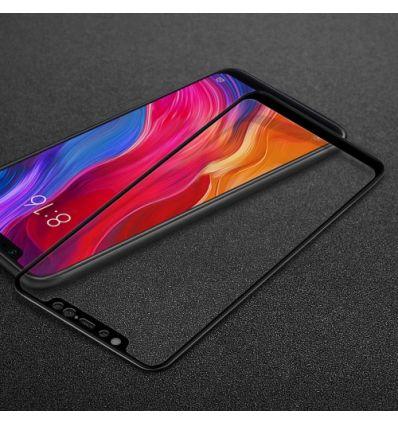 Protection d'écran Xiaomi Mi 8 en verre trempé Full Size - Noir