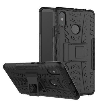 Coque Xiaomi Mi Max 3 antidérapante avec support intégré