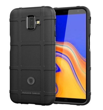 Coque Samsung Galaxy J6 Plus protectrice square grid