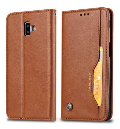 Housse Samsung Galaxy J6 Plus Cuir stand case