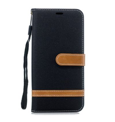 Housse Huawei Mate 20 Pro revêtement tissu porte cartes