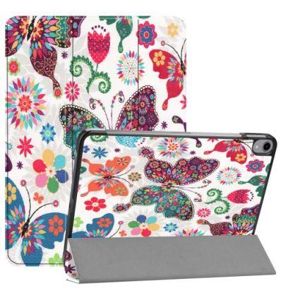 Coque iPad Pro 11 pouces avec rabat - papillons et fleurs