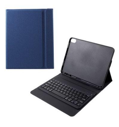 Housse avec clavier pour iPad Pro 11 pouces QWERTY - Bleue