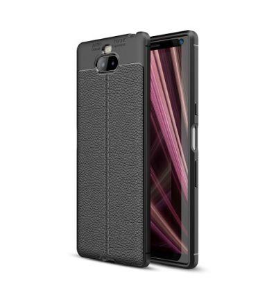 Coque Sony Xperia XA3 texture litchi
