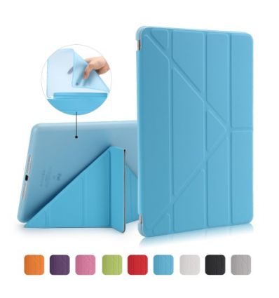 Housse iPad 9.7 2018 / 2017 Origami multi angles