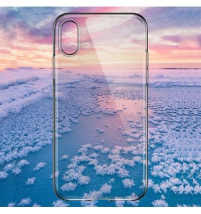 Coque iPhone XR TOTU transparente