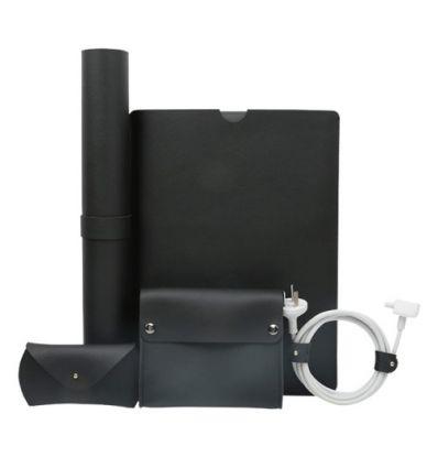 Pack accessoires MacBook 12 pouces en cuir