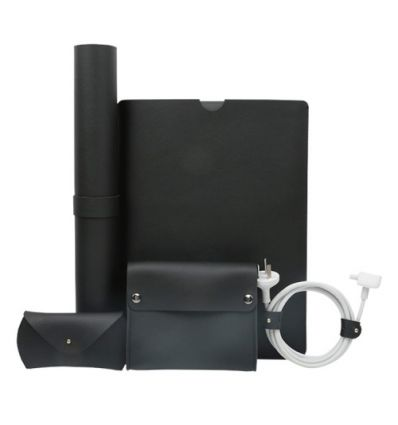 Pack accessoires MacBook Air / Pro 13 pouces en cuir