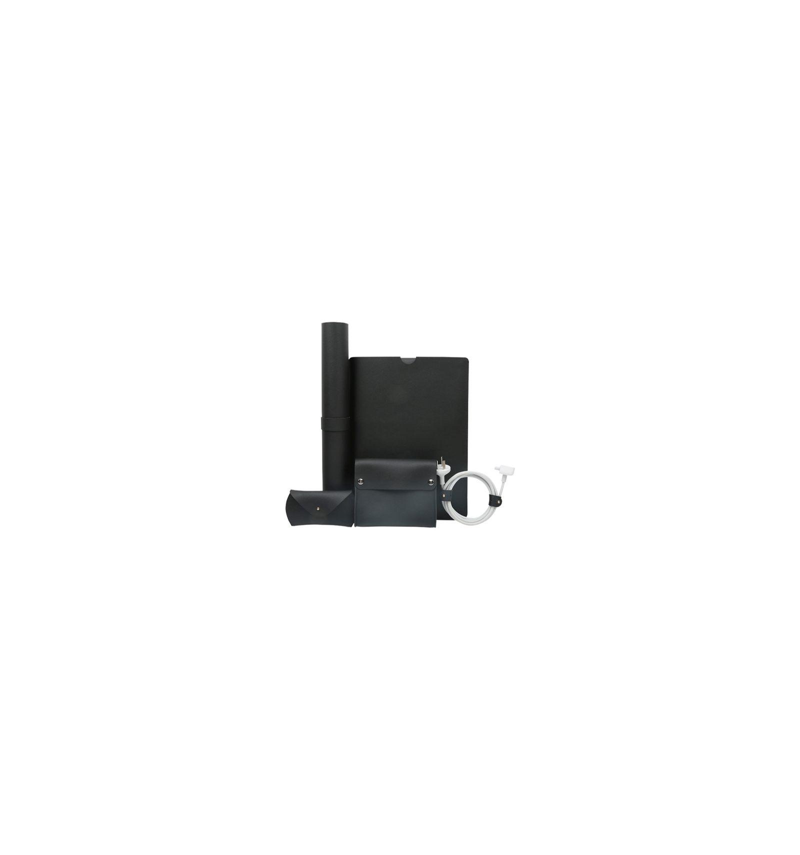 pack accessoires macbook air pro 13 pouces en cuir
