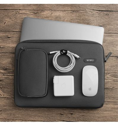 Housse MacBook Pro / Air 13 pouces Imperméable - Noir