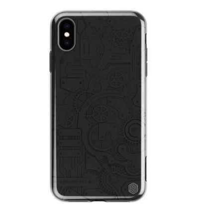 Coque iPhone XS Max Mechanic - Noir