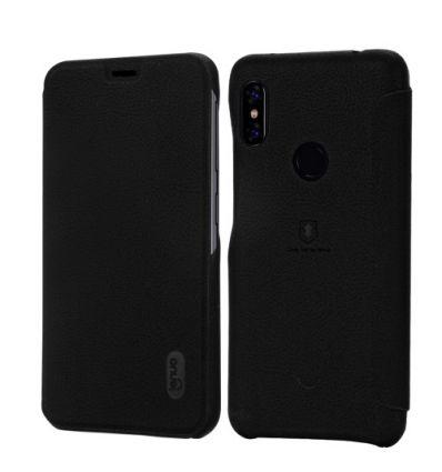 Housse Xiaomi Redmi Note 6 Pro imitation cuir texturé