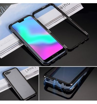 Coque Honor 10 Détachable dos verre trempé