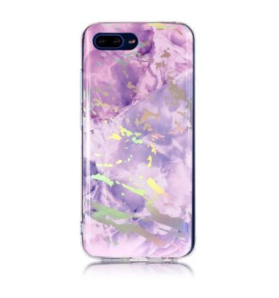 Coque Honor 10 Marbre Premium - Violet