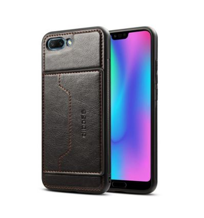 Coque Honor 10 porte carte simili cuir