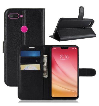 Housse Xiaomi Mi 8 Lite Style cuir porte-cartes