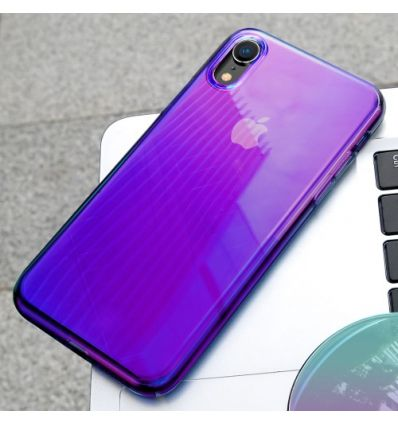 coque violet iphone xr