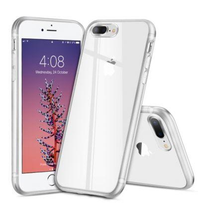 iPhone 8 Plus / 7 Plus - Coque transparente Light Series - Blanc