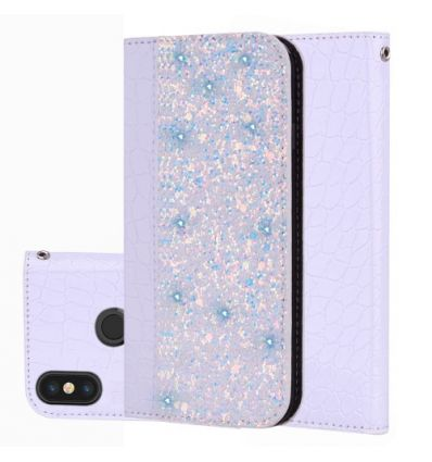 Xiaomi Redmi Note 6 Pro - Housse Luxury Croco porte-carte