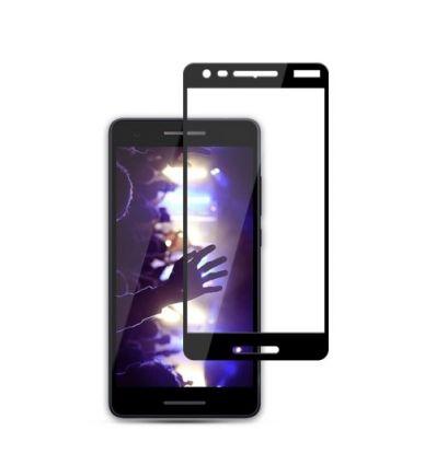 Nokia 2.1 - Protection d'écran en verre trempé Full Size - Noir