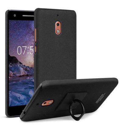 Nokia 2.1 - Coque IMAK ring - Noir