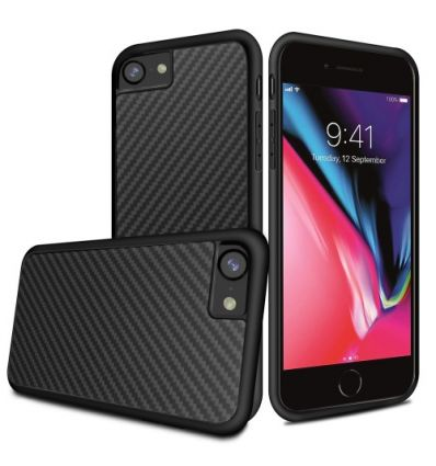 iPhone 8 / 7 - Coque Kevlar Series - Noir