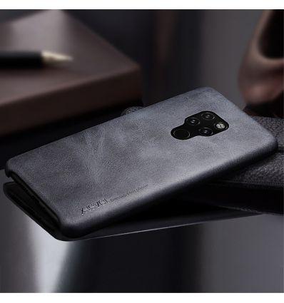 Huawei Mate 20 - Coque cuir vintage series - Noir